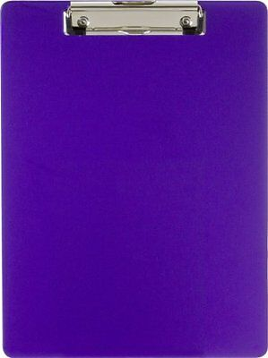 Officemate OIC Recycled Plastic Clipboard, Letter Size, Purple (83064)