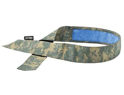 Ergodyne Chill-Its 6705CT Evaporative Cooling Bandana with Cooling Towel -