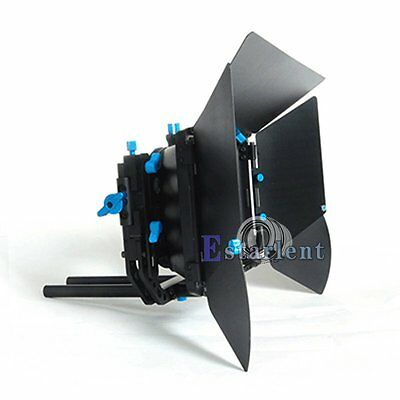 FOTGA DP3000 M3 Matte Box Swing Away Donut Sunshade 15mm Rod Rail DSLR Rig【US】