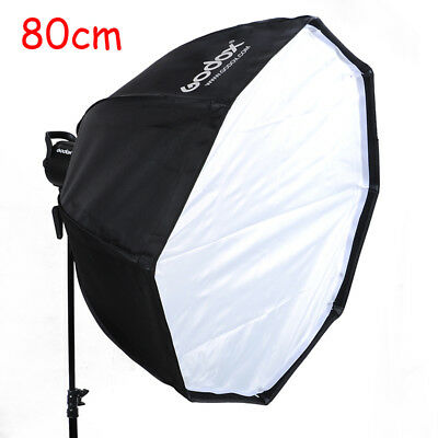 GODOX 80cm Octagon Softbox Bowens Mount For Studio Lighting Flash Strobe【US】