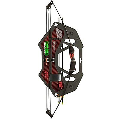 PSE Youth Explorer Compound Bow, Black, 15-Pound, Right Hand/Left Hand