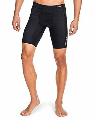 SKINS Men's A400 Compression Power Shorts, Black, Large