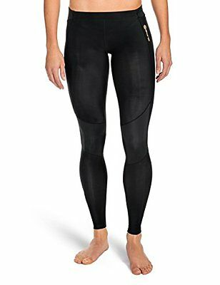 SKINS Women's A400 Compression Long Tights, Black, X-Large