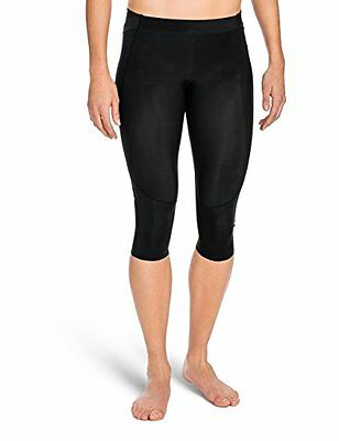 SKINS Women's A400 Compression 3/4 Tights, Black, Large