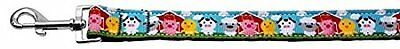 Mirage Pet Products Barnyard Buddies Nylon Ribbon Collars with 1-Inch by 4-