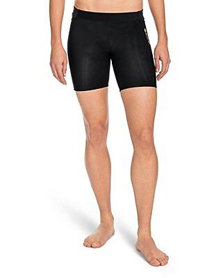 SKINS Women's A400 Compression Shorts, Black, Small