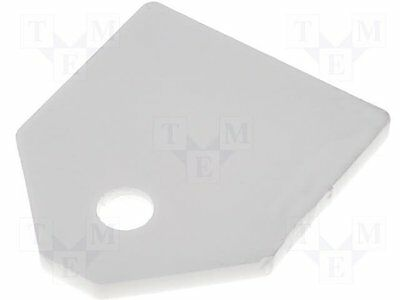 1 pc Thermally conductive pad: ceramic; TO3P; L:17.5mm; W:20.5mm