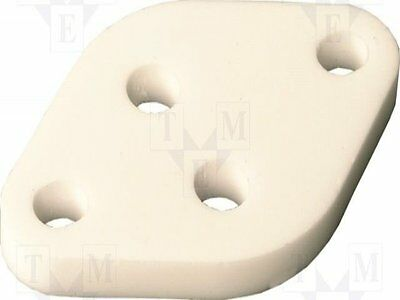 1 pc Thermally conductive pad: ceramic; TO3; L:26.3mm; W:40mm; D:2.9mm