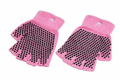 ProSource Non-Slip Yoga Gloves, Pink