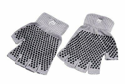 ProSource Non-Slip Yoga Gloves, Grey