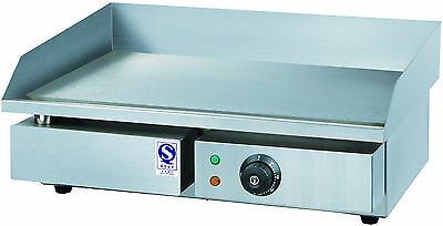 3000w Commercial Stainless Steel BBQ Electric Griddle Grill Flat Hot Plate