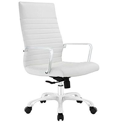 LexMod Finesse Highback Office Chair, White