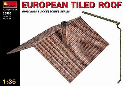 1/35 European Tiled Roof, New Tool