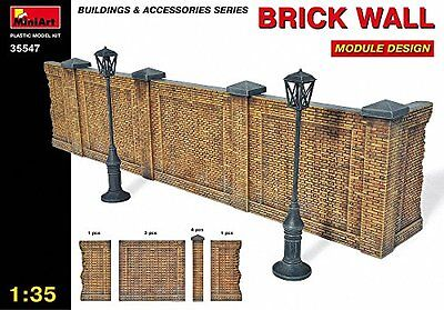 MiniArt Plastic Models 1/35 Brick Wall, Module Design