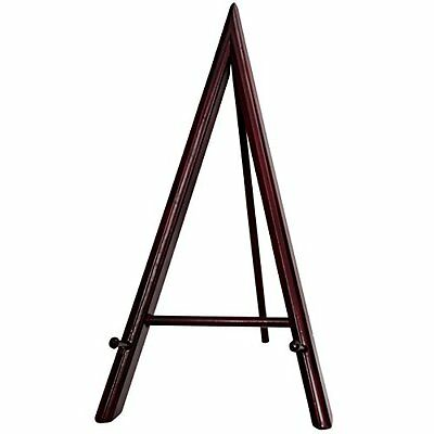 Oriental Furniture 12-Inch Rose wood Art Easel Display Stand