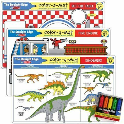 Common Knowledge I Write-a-Mat w/ Crayon Bundle for Ages 3+:
