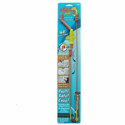 Drain Weasel Hair Clog Tool with 2 Pack Disposable Wands Starter Kit for Dr