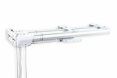 A&F Rod Decor - Double Traverse Curtain Rods 30-48 inch, One way- Cord Left