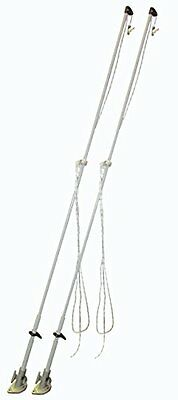 Dock Edge Mooring Whip 8-Feet with Lines and Hardware, 2500-Pound
