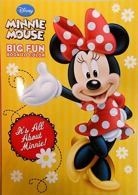 """Disney Minnie Mouse Coloring Book """"It's All About Minnie!"""""""