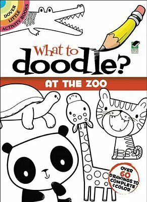 Dover Publications-What To Doodle? At The Zoo