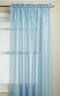 Lorraine Home Fashions Reverie 60-inch x 72-inch Tailored Panel, Blue