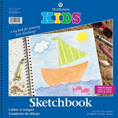 Strathmore Kids Sketchbook, 12 x 12 Inches (ST27-110-1)
