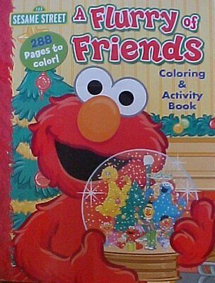 Sesame Street - A Flurry of Friends Coloring & Activity Book