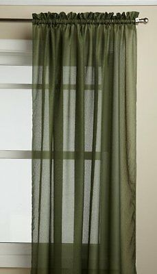 Lorraine Home Fashions Reverie 60-inch x 72-inch Tailored Panel, Green
