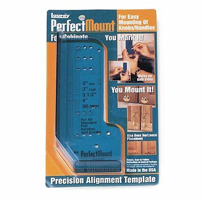 Laurey 98201 Perfect Mount Precision Allignment Template for Cabinet Hardwa