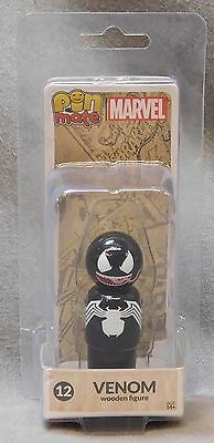 Marvel Venom Pin Mate Wooden Figure - Bif Bang Pow!