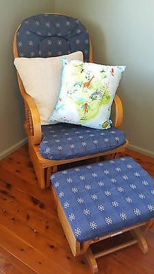 Swallow Rocking Chair Glider and Ottoman / Footstool