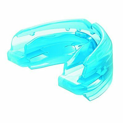 Shock Doctor Double Braces Strapless Mouthguard (Blue, Youth)