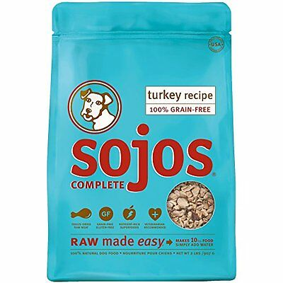 Sojos Complete Turkey Dog Food Mix, 2 Pounds