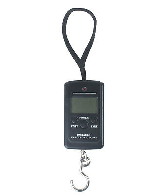 50KG 10G Portable LCD Digital Fish Hanging Luggage Electronic Weight Scale Hook