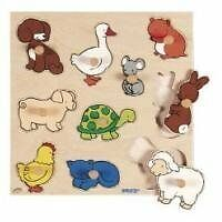 522 637 knob puzzle with animal (japan import)