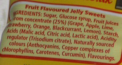 Rowntrees Jelly Tots Bag