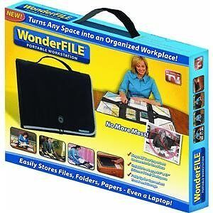 WonderFile - Portable & Foldable Organization Workstation