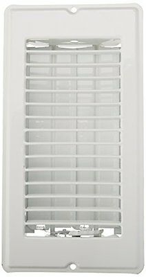 """Ap Products Floor Register 4"""" X 8"""" White 013-625"""