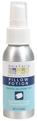 Aura Cacia Essential Solutions Mist, Pillow Potion, 2 Fluid Ounce