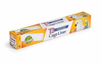 Prevue Hendryx Pet Products T3 Cage Liner, 14-1/2-Inch by 25-Feet