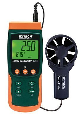 Extech SDL310 Thermo-Anemometer SD Logger