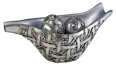 Ore International K-4259B Dazzle Decorative Bowl with Spheres, 7.75-Inch He