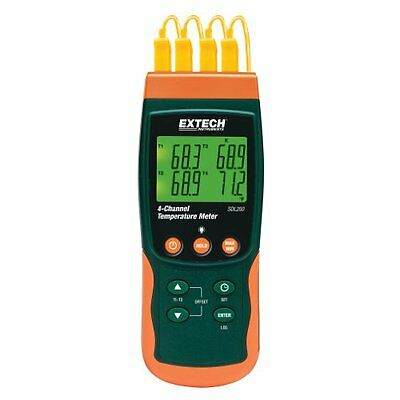 Extech SDL200 4-Channel Thermometer SD Logger