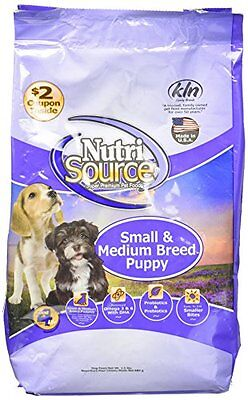 Tuffy's Pet Food NutriSource 1.5-Pound Chicken and Rice Formula Breed Dry P