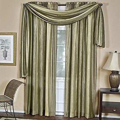 Achim Home Furnishings Ombre h Scarf, 50-Inch by 144-Inch, Sage