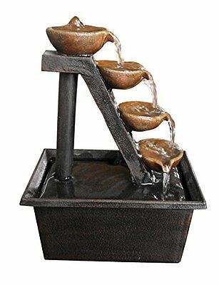 Alpine Four Tiered Step Tabletop Fountain [Misc.]