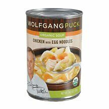 Organic Chicken with Egg Noodle Soup
