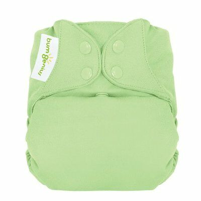 BumGenius Freetime All in One Cloth Diaper - Snap - Grasshop