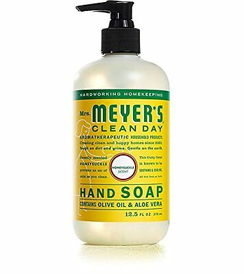 Liquid Hand Soap, Honeysuckle, 12.5 oz